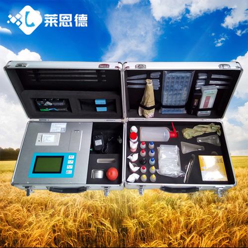 土壤分析仪给农民朋友带来很大的帮助