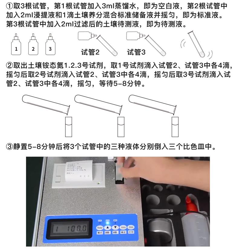 土壤分析仪检测步骤